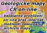 Prohl�en� geologick�ch map on-line